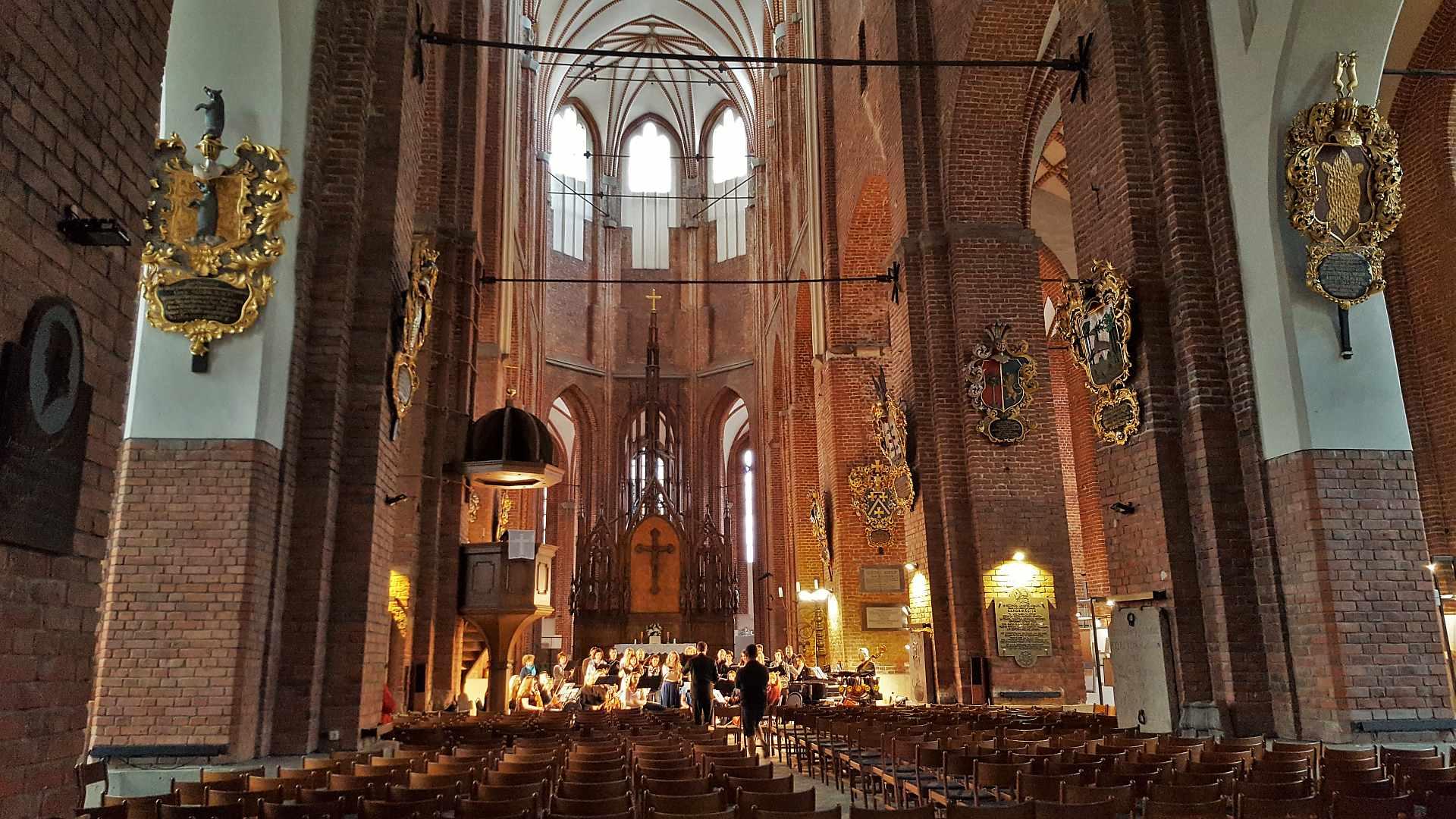 Saint Peter's Church Riga - interior -Trivo.ro