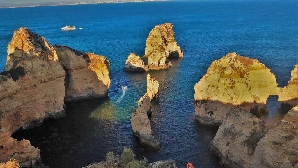 The Ponta da Piedade, Algarve