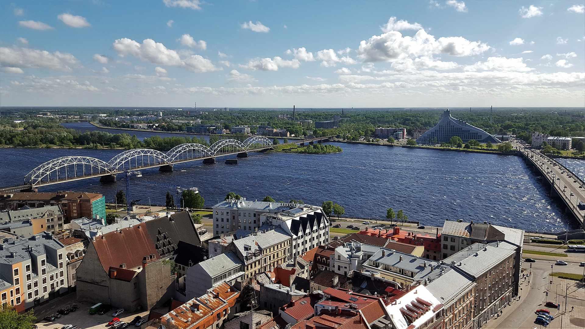 Viewpoint from Saint Peter's Church - Riga - trivo.ro (2)