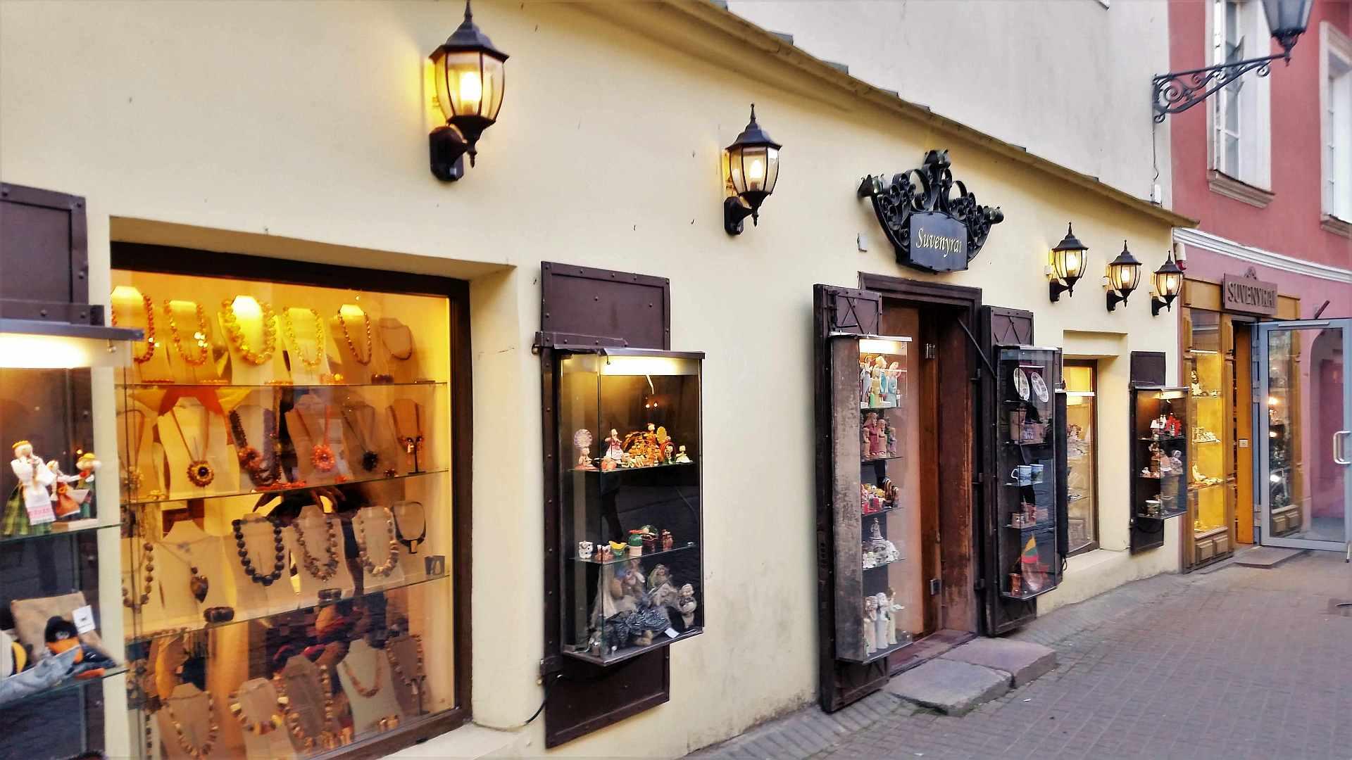 Amber stores in Vilnius - trivo.ro