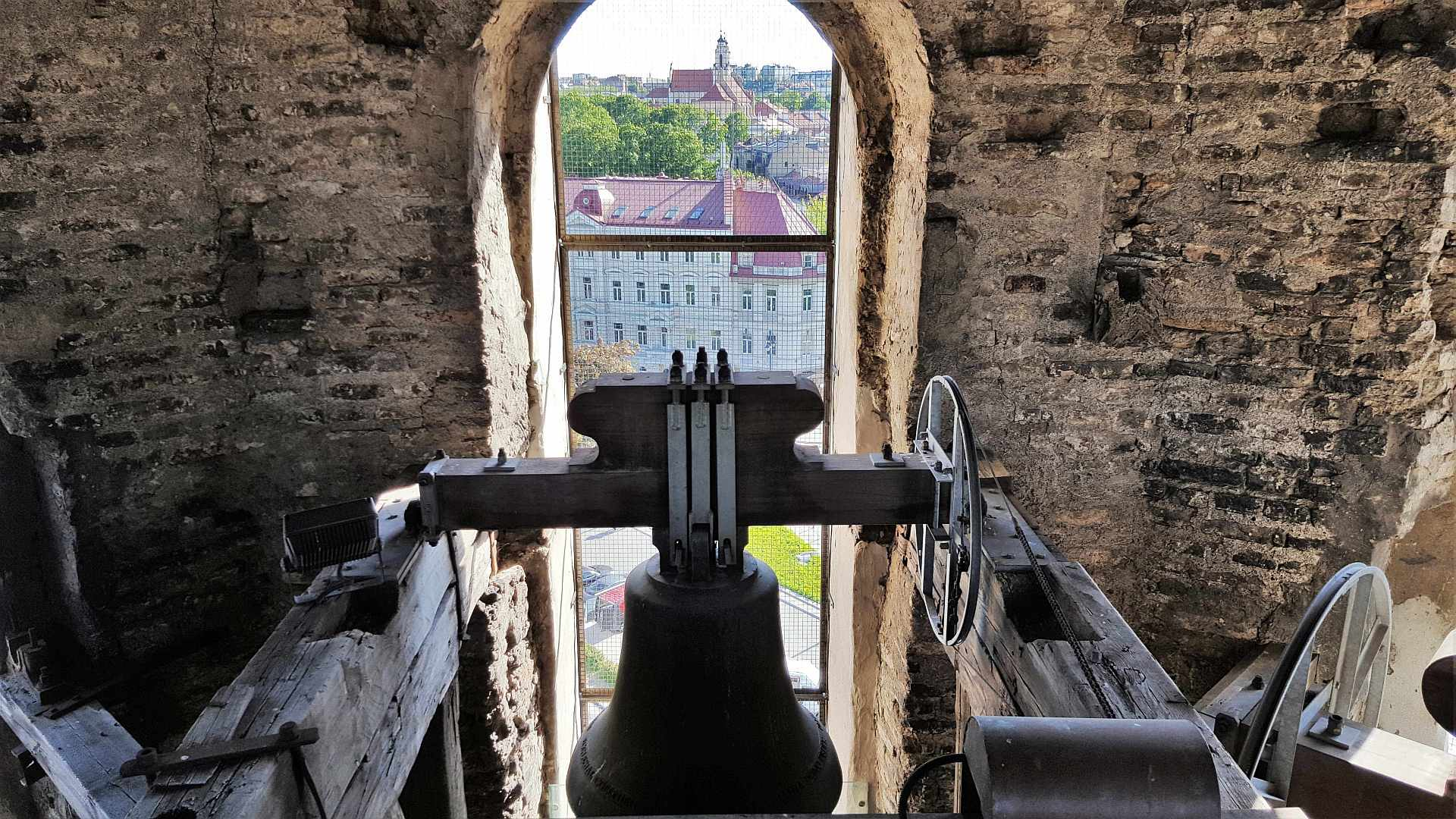 Inside the Bell Tower - Vilnius - trivo.ro