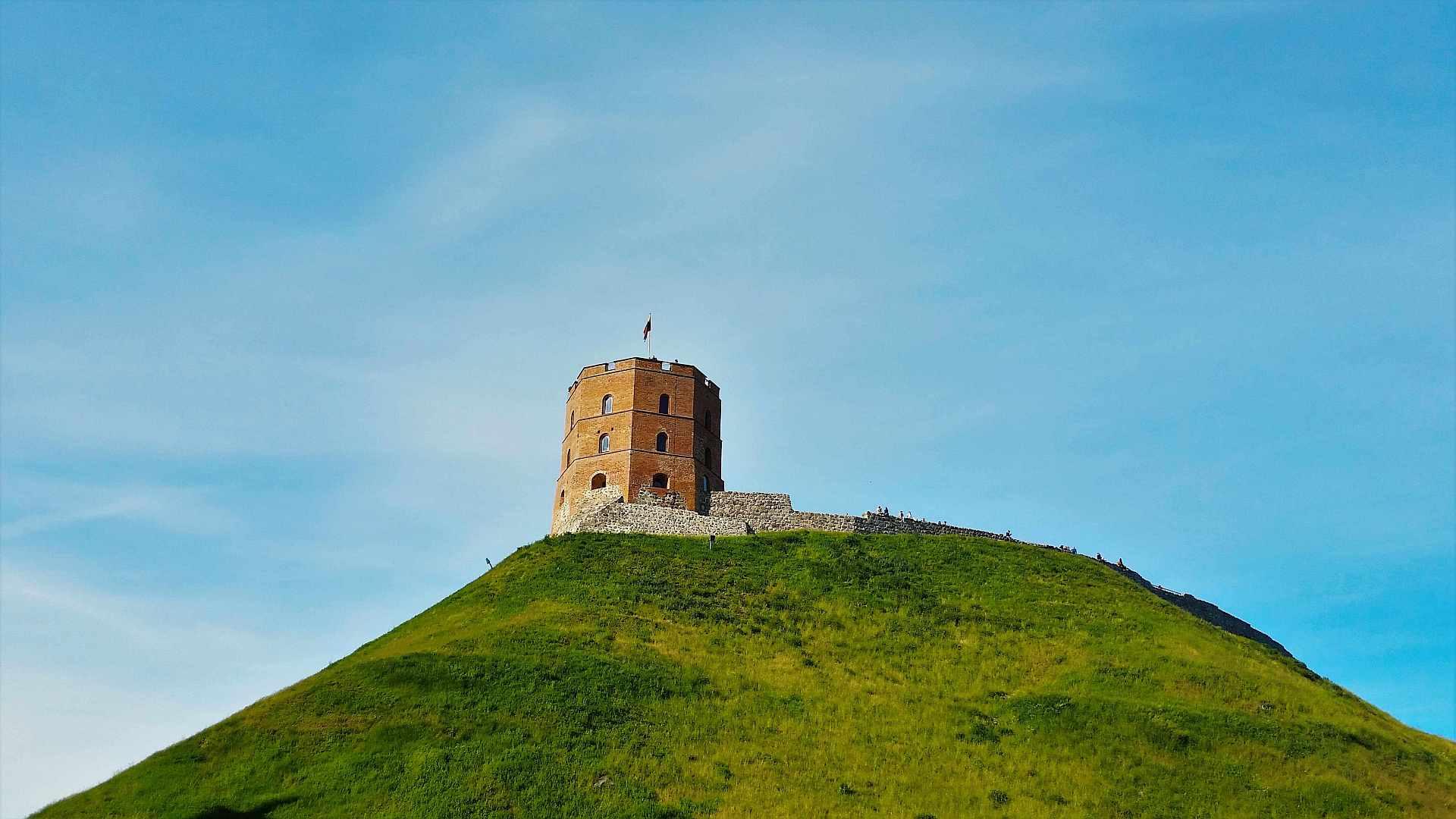 Upper Castle, Gerdiminas Castle -Top atractii de vizitat in Vilnius