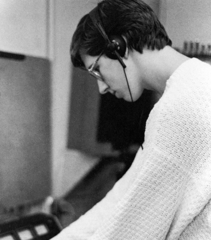 Jim at Soundtraks, 1989