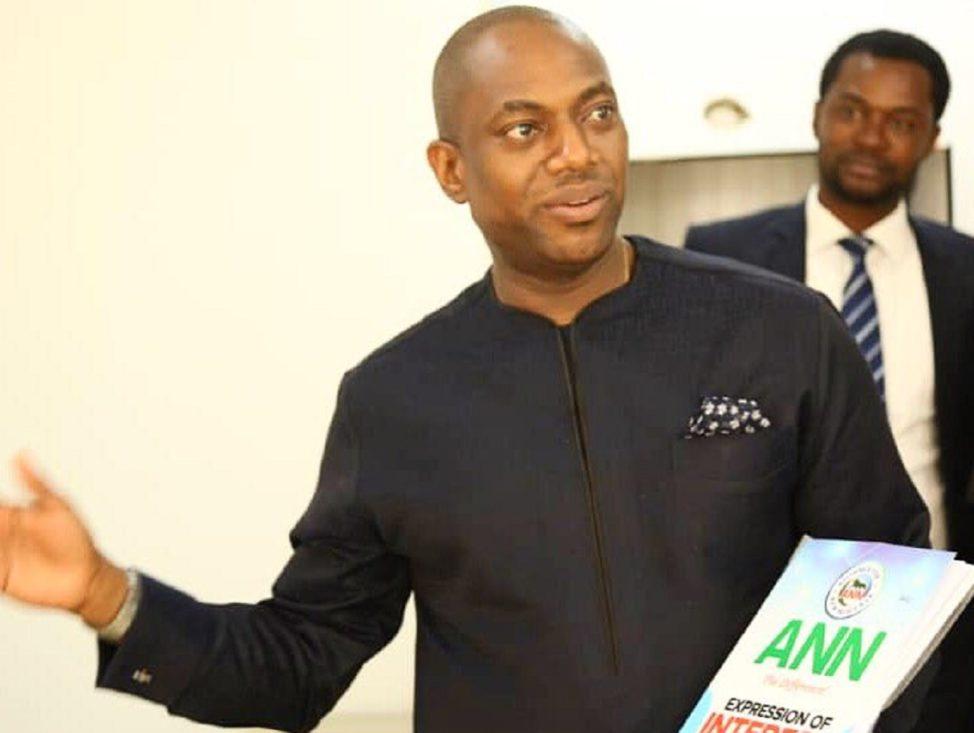 Fela Durotoye picks N3.5 presidential form