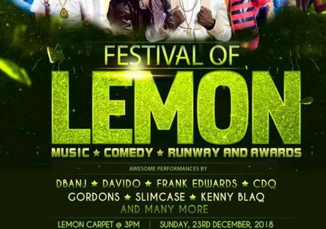 Celebrities, Dignitaries to Storm Adron Homes Festival of Lemon