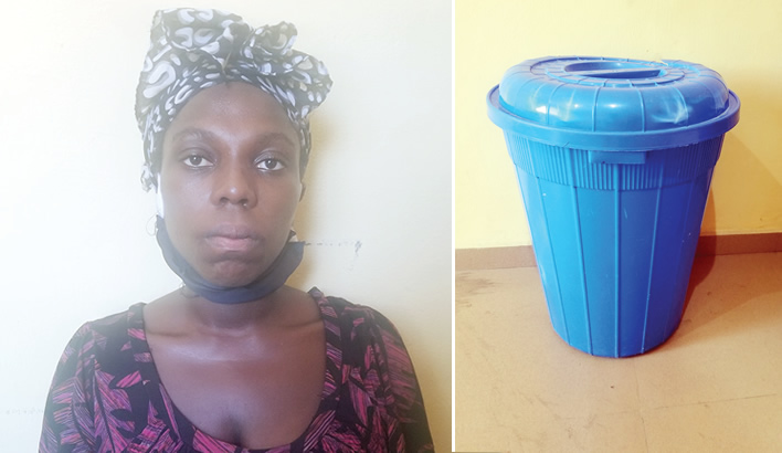 Court sends lady, who drowned daughter, for psychiatric evaluation