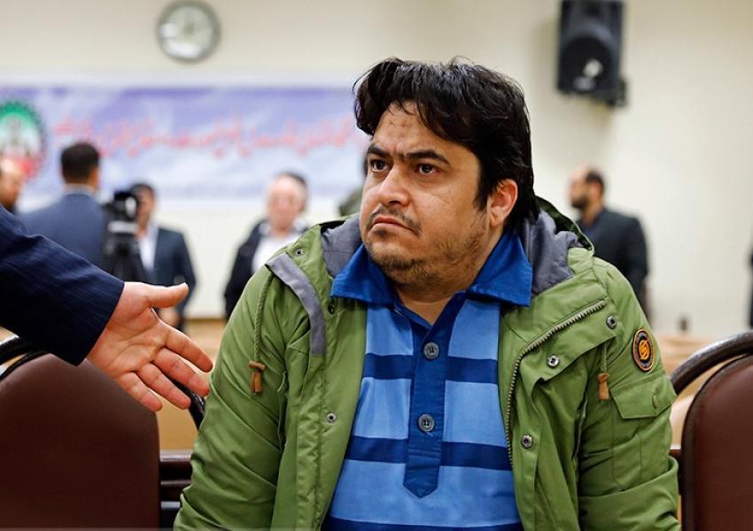 Iran sentences ex-opposition leader to death