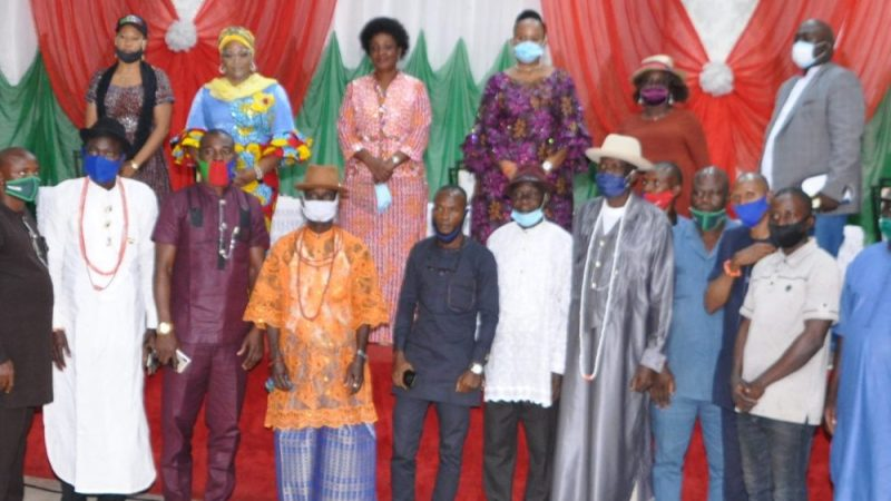 Ijaw communities in Edo applaud Obaseki's giant strides, reaffirm support for second term