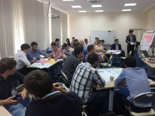 РусГидро: воркшоп по решению проектных задач и подготовка презентаций проектов