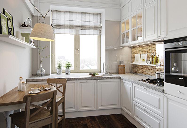 кухня 9 кв м дизайн фото 21
