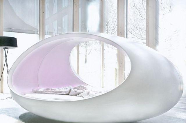 Yatak Odasında Bulunan Yuvarlak Yatak Çeşitleri - Yuvarlak Lavabo Yatak