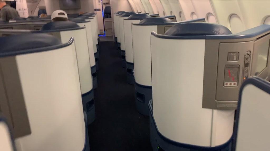 A330 First Class cabin