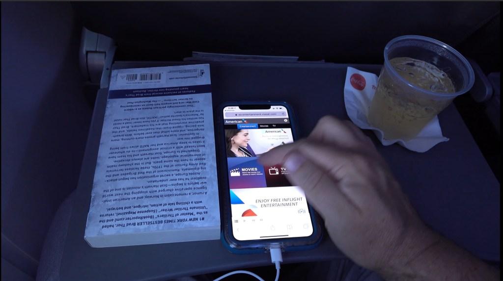 AA In Flight Entertainment