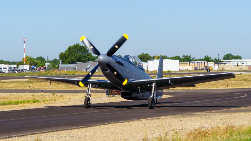 rare P-51H mustang warbird roundup 2019 warhawk air museum