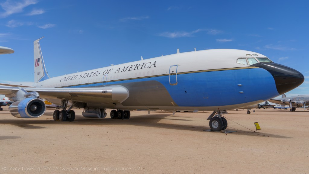 Boeing VC-137B, former Air Force One