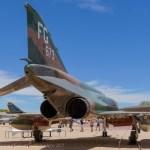 Flamey end of an F-4 Phantom