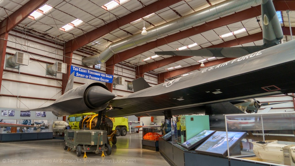 SR-71 fuselage and wing