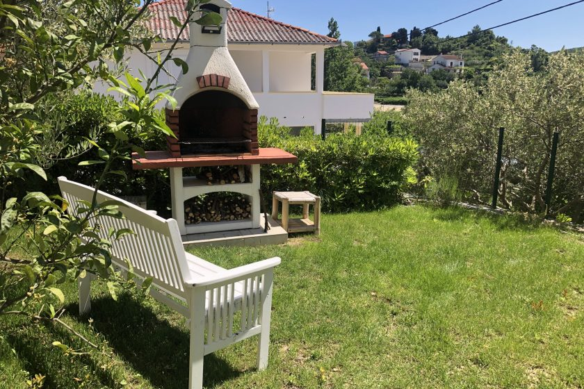 Grill in the garden