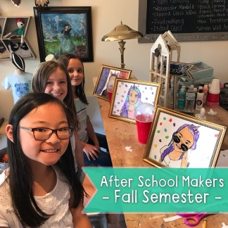 After School Makers :: Fall Semester :: K5-5th Grade - TR Makers Co.