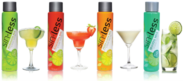 sinless-low-calorie-cocktail-mixers