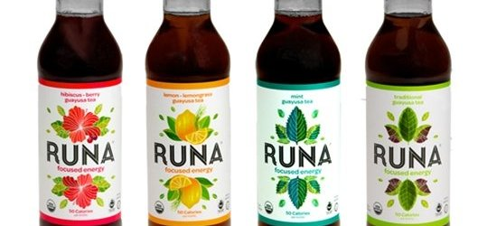 Product Spotlight: Runa Guayusa Tea Drinks