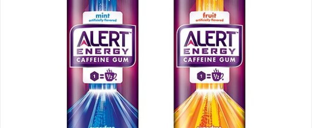 Product Spotlight: Wrigley Caffeinated Chewing Gum