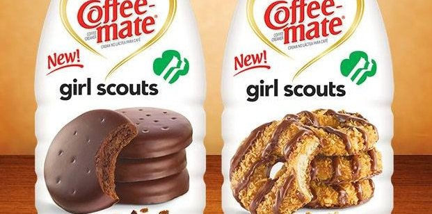 Coffee-Mate Girl Scout Cookies Flavored Creamers