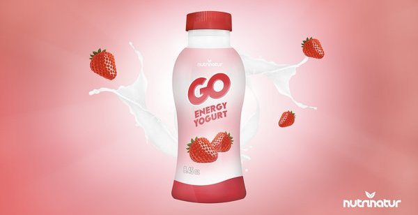 Packaging Spotlight: Go Energy Yogurt