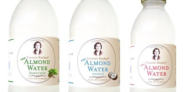 product spotlight victorias kitchen almond water - Victorias Kitchen Almond Water