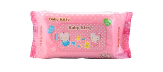 Baby Spotlight: Hello Kitty Baby Wipes