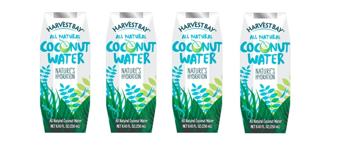 Product Spotlight: Harvest Bay All Natural Coconut Water