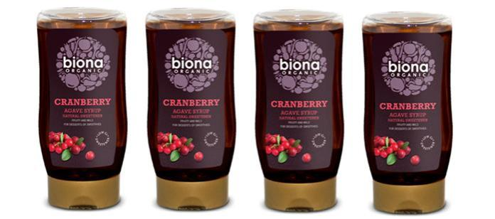 Sweetener Spotlight: Biona Organic Cranberry Agave Syrup