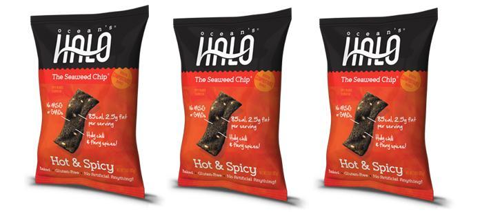Snack Spotlight: Ocean´s Halo Hot & Spicy Seaweed Chips