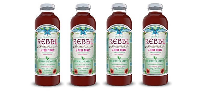Drink Review: Rebbl Hibiscus Mint Organic Tonic