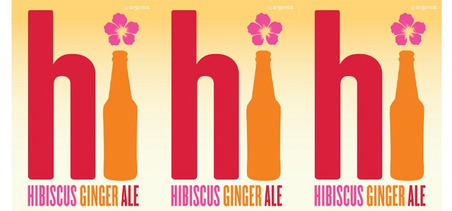 Drink Spotlight: Argo Tea Hibiscus Ginger Ale®