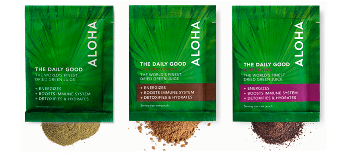 Aloha - Daily Good Greens Chocolate Blend- oz. (11 g) Aloha Daily Good Greens Chocolate Blend is an all-natural whole-foods powder that builds the bridge 5/5(1).