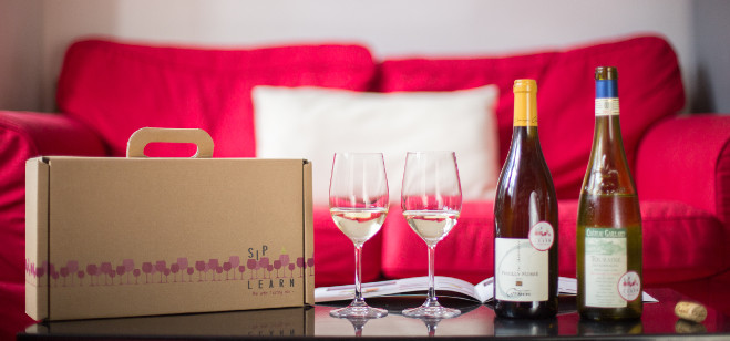 Company Spotlight: Sip and Learn – the wine tasting box