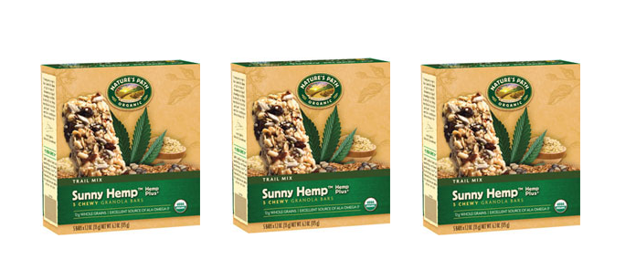 Snack Spotlight: Nature's Path Sunny Hemp Granola Bars
