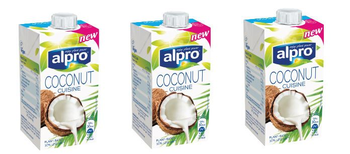 alpro coconut feat