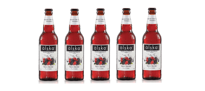 Drink Spotlight: älska Nordic Berries Cider