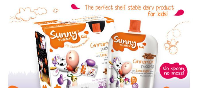 Dairy Spotlight: Sunny Yummy Kids Cinnamon Pudding