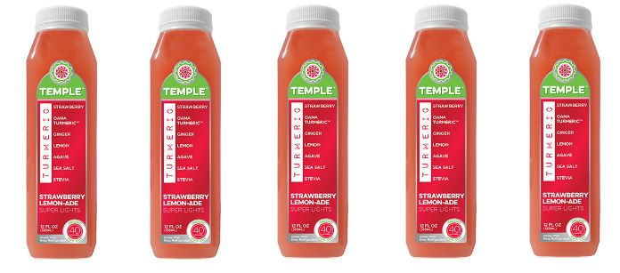 Drink Spotlight: Temple Turmeric Strawberry Lemon Ade