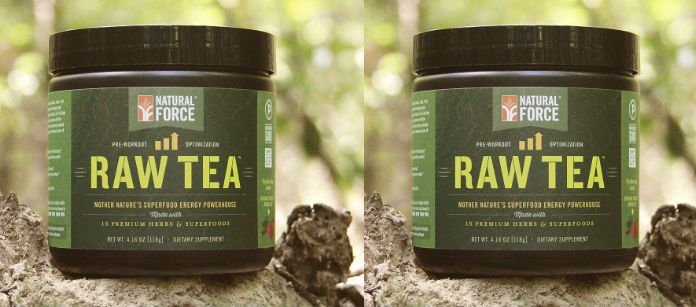natural force raw tea feat