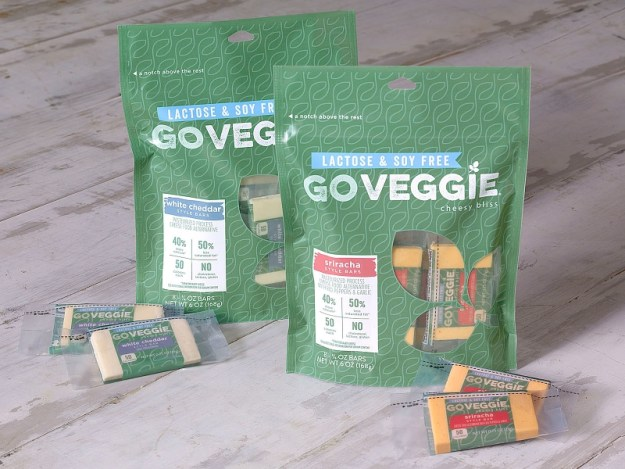 GO VEGGIE Bars Packaging (PRNewsFoto/GO VEGGIE)