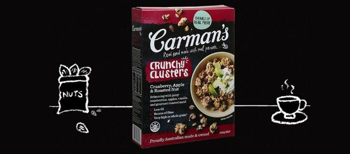 Food Spotlight: Carman's Cranberry, Apple & Roasted Nut Crunchy Clusters