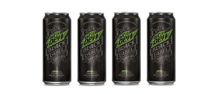 Product Launch: Mountain Dew Black Label