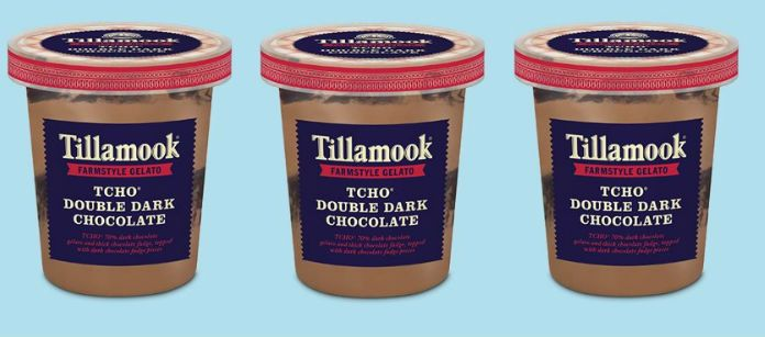 Dairy Spotlight: Tillamook Super Premium TCHO Double Dark Chocolate Farmstyle Gelato