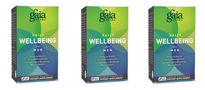 Supplement Spotlight: Gaia Daily WellBeing for Men