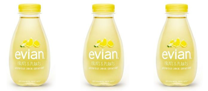 Drink Spotlight: Evian Fruits & Plants Lemon Juice Elderflower Flavor