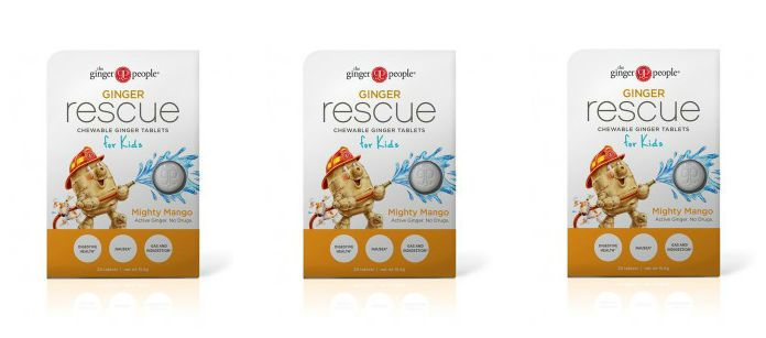 Supplement Spotlight: The Ginger People Ginger Rescue Mighty Mango for Kids